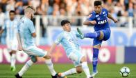Giorgian De Arrascaeta volvió a jugar. Foto: prensa Cruzeiro