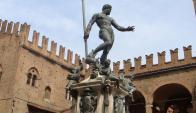 La estatua de Neptuno que fue censurada por facebook. Foto: Wikimedia Commons.