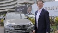 Eric Trump en Punta del Este. Foto: Ricardo Figueredo.