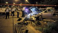 En atentado, joven palestino embistió a varias personas. Foto: Reuters.