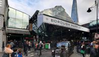 Borough Market en Londres. Foto: Google Street View