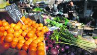 Los uruguayos consumen 246 gramos de frutas y verduras por día; la OMS recomienda 400. Foto: Fernando Ponzetto