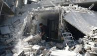Seis años de guerra han provocado más de 300.000 muertos. Foto: Reuters
