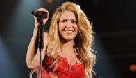 Shakira. Foto: AFP