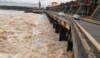 Represa: el 12% del abastecimiento provino de la hidraúlica. Foto: Archivo El País