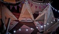 Festejo. Puede incluir niñeras o incluso especialistas que dicten talleres. Foto: Gentileza Pijama's night camp.