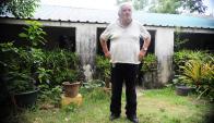 El expresidente Mujica, en su chacra en Rincón del Cerro, durante una entrevista que concedió a El País. Foto. N. Pereyra