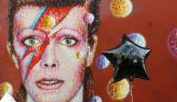 Tributo a David Bowie. Foto: AFP