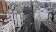 En horas pico hay 5.000 peatones y es recorrida por unos 200 ómnibus. Foto: A. Colmegna