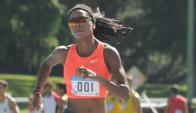 Celestes. Déborah Rodríguez correrá en los 800 metros de la cita olímpica. Foto: Francisco Flores