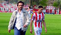 Ilusionado. Pablo Tiscornia les dio confianza a sus jugadores y River viene mejorando. Foto: Fernando Ponzetto