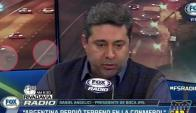 Daniel Angelici en Fox Sports Radio Argentina