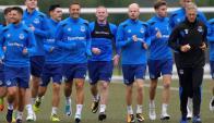 Wayne Rooney regresó al Everton y ya trabajó con sus nuevos compañeros. Foto: Prensa Everton