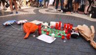 Las Ramblas tras el atentado. Foto: Mariana Malek