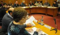 La ministra de Desarrollo cruzó reproches con los diputados blancos. Foto: A. Colmegna