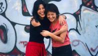 Carolina Domínguez y Camila Cibils