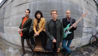 Gilbert, Martin, Torpey y Sheehan llegan con nuevo disco a Montevideo. Foto: Difusión