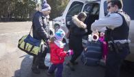 """""""La cuarta parte de los que llegan son niños"""", dijo la ministra Kathleen Weil. Foto: Archivo"""