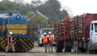 Costo para trasladar vía tren la producción se estima en US$ 12 por tonelada. Foto: Archivo