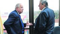 Tomás Regalado, alcalde de Miami, y Enrique Antía. Foto: Ricardo Figueredo