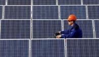 Energía solar: en Uruguay es más incipiente que la eólica. Foto: Reuters