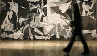 Guernica: la obra más emblemática de Pablo Picasso. Foto: Reuters