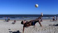 Abrieron aulas en costas del Río de la Plata para todos los deportes. Foto: F. Ponzetto