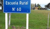 La Escuela Rural N°60 atiende a 36 escolares y al menos una decena no puede ir. Foto: L. Pérez