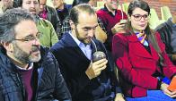 Amado: el diputado defendió su posición en la Rendición. Foto: Marcelo Bonjour