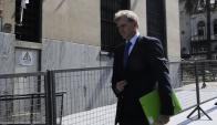 Sebastián Bauzá llega a declarar. Foto: D. Borrelli