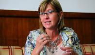 Cristina Lustemberg, subsecretaria de Salud Pública. Foto: Marcelo Bonjour.