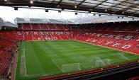 """Old Trafford  (Manchester, Inglaterra) Conocido como """"El teatro de los sueños"""", en este estadio juega como local el poderoso Manchester United."""