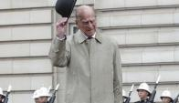 Duque de Edimburgo. Foto: EFE