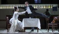 """""""La ciudad de las mentiras"""", ópera basada en Onetti. Foto: EFE"""