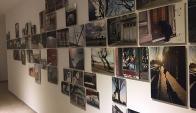Algunas fotos de la muestra. Foto: Paula Espasandín