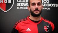 Mauro Guevgeozian ya es jugador de Newell's Old Boys. Foto: Prensa Newell's