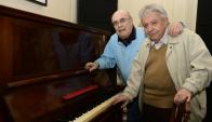 Nolé, Frade y un piano, una relación de amor de más de medio siglo. Foto: M. Bonjour