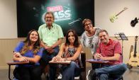 Bianco será la conductora y Moreira, Ripa, Canoira y Freijido los jurados. Foto: Difusión