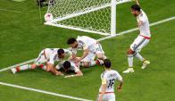 Cuando moría el partido el mexicano Héctor Moreno de cabeza puso el 2-2. Foto: AFP