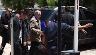 En cuestión de horas, Figueredo llegó extraditado y fue procesado. Foto: AFP