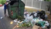 Todavía quedan 3.000 contenedores sin recoger. Foto: F. Ponzetto