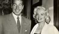 Joe Di Maggio y Marilyn Monroe estuvieron casados apenas 274 días. Foto: archivo