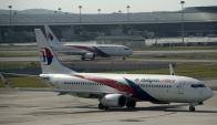 Avión de Malaysia Airlines. Foto: AFP