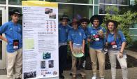 Alumnos del liceo de Tala ganaron en Mejor Proyecto de Investigación en una competencia de la NASA. Foto: @ANEP_Uruguay