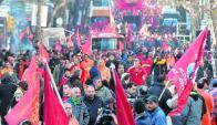 Conflictividad: este año podría producirse aumento a nivel de sindicatos estatales. Foto: F. Flores
