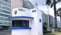 """Kibón: ubicada en la rambla de Pocitos, muy cerca del cartel """"Montevideo"""". Foto: archivo El País"""
