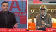 Ángel De Brito y Yanina Latorre