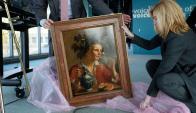 La obra pertenece al retratista holandés Jan Franse Verzijl. Foto: AFP