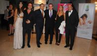 Valentina Barrios, Gaston Pauls, Juan Herrera, embajador de Argentina Guillermo Montenegro, María Jose Fertig, Alejo Corral.