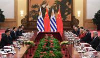En octubre del año pasado ambos gobiernos coincidieron en negociar. Foto: AFP